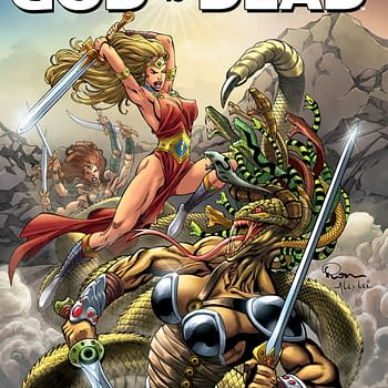 The Final Issue Of Jonathan Hickmans God Is Dead Hits Shelves Tomorrow