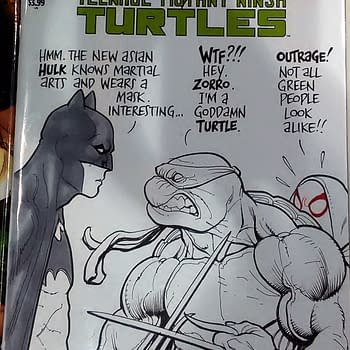 Frank Chos C2E2 Outrage With Batman A Turtle And Spider-Gwen
