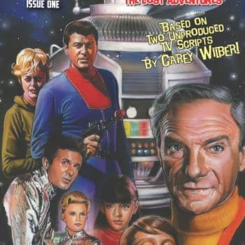 Preview Of Irwin Allen's Lost In Space #1 From Original Teleplay From 60's Series