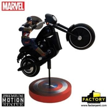 New Captain America Motion Statue Inspired By Avengers: Age Of Ultron