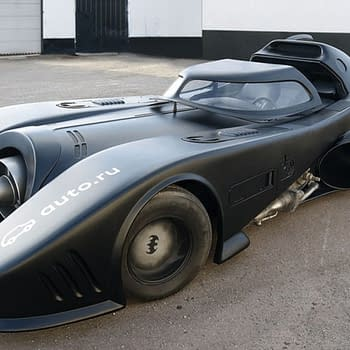 Would You Pay $1 Million Dollars For A Tim Burton Batmobile