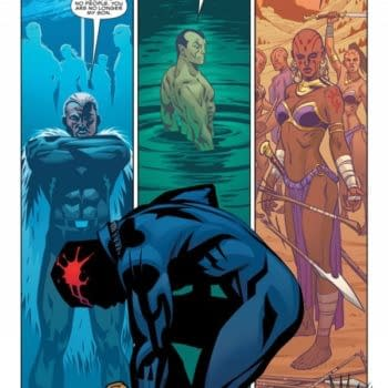 A Look At The First Six Pages Of Black Panther By Ta-Nehisi Coates And Brian Stelfreeze