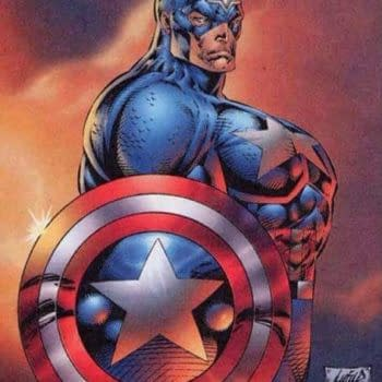Swipe File: That Captain America Image By Rob Liefeld