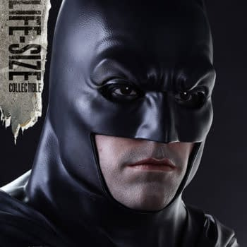 A Life-Sized Ben Affleck Batman Statue You Can Have In Your Home
