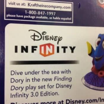 Disney Infinity Finding Dory Playset Leaks…By Way Of Macaroni And Cheese
