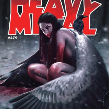 Death Themed Heavy Metal #279 On Stands Now