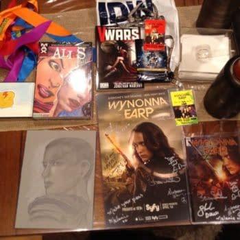 Wondercon Saturday Stuff and Swag: Wynonna Earp, Art, and More