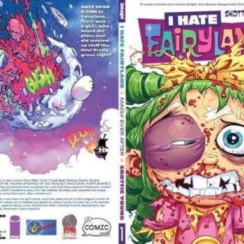 The Retailer Exclusive Cover Limited To 325 Copies – Skottie Young's I Hate Fairyland
