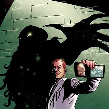 I Love H. P. Lovecraft I Love Cop Shows And Their Unholy Bastard Child Is Weird Detective Dark Horses New Creator-Owned Comic