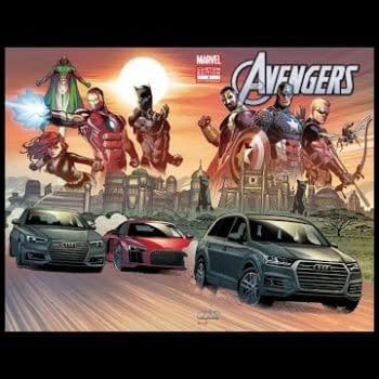 When The Avengers Replace Their Quinjets With A Fleet Of Audis