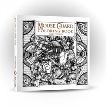 The Mouse Guard World Expands WIth Coloring Books And Plush