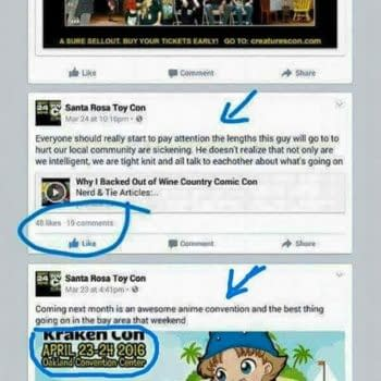 False Flag Operation Detracts Criticism From The Wine Country Comic Con?