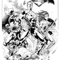 The BVS Original Art By Ivan Reis And Joe Prado That Zack Snyder Bought