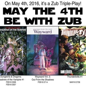 """""""May The 4th Be With Zub"""" Jim Zub Talks Upcoming Comics"""
