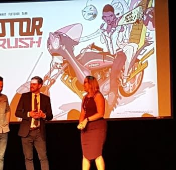 Motor Crush By Brenden Fletcher Cameron Stewart And Babs Tarr Announced At #ImageExpo (UPDATE)