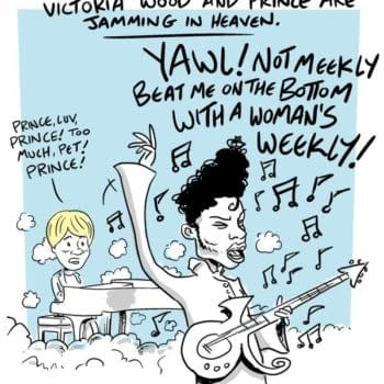 Victoria Wood And Prince, Jamming In Heaven….