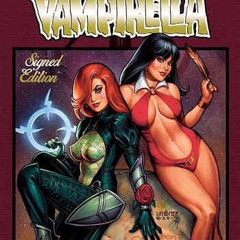 Linsners Dawn / Vampirella Gets Deluxe Hardcover Edition