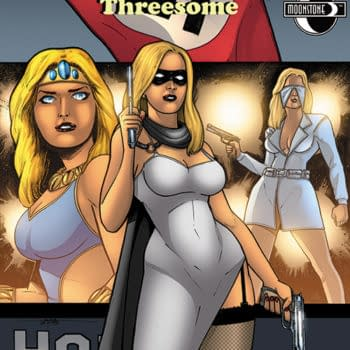 A Double-Dose Of Domino Lady In August From Moonstone