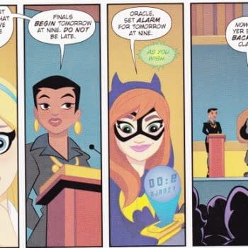 Reading The First Chapter Of DC Superhero Girls For FCBD2016