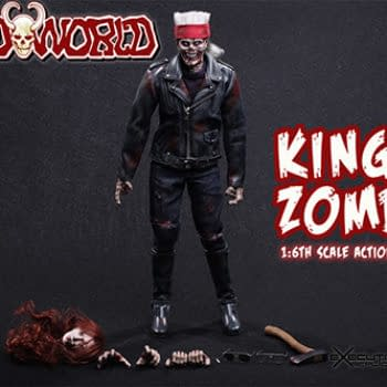 Like Billy Idol, But Undead – King Zombie 1:6th Scale Figure