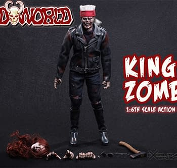 Like Billy Idol But Undead &#8211 King Zombie 1:6th Scale Figure