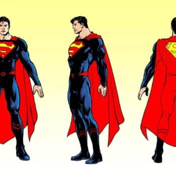 Superman's Rebirth Costume Loses More Red