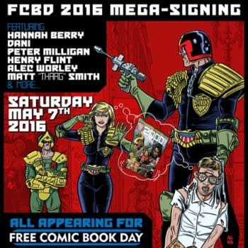 It May Be Free Comic Book Day 2016 But At Orbital Comics It's 2000AD