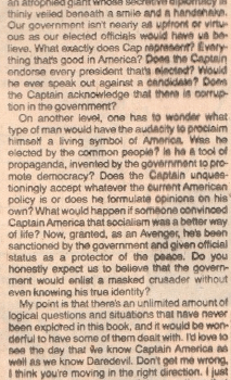 When The Writer Of Batman V Superman Wrote To Mark Gruenwald About Captain America