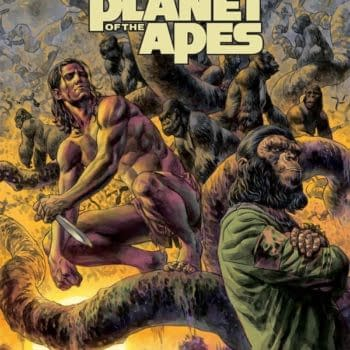Tim Seeley, David Walker And Fernando Dagnino Take Tarzan To The Planet Of The Apes, Announced From Dark Horse And Boom! At ECCC