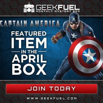 A Special Captain America Item In The Next Geek Fuel Box