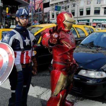 A New Civil War – Iron Man And Captain America Vs Uber