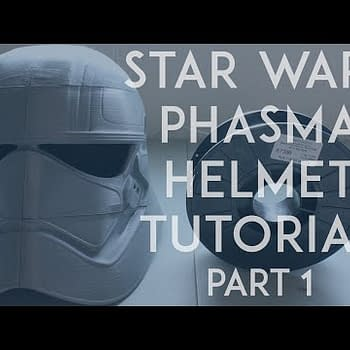 Comics And Cosplay Are Here With A Star Wars Captain Phasma Helmet Tutorial