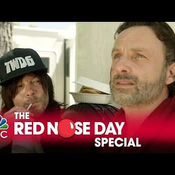 The Walking Dead Red Nose Day Special Includes Jeff Goldblum