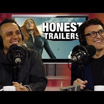 Russo Brothers React To Captain America: Winter Soldier Honest Trailer