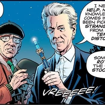 Dave Gibbons Returns To Doctor Who Magazine For 500th Issue