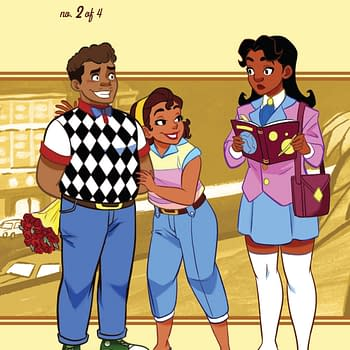 A Deeper Mystery in Goldie Vance #2