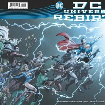 DC Universe Rebirth #1 Gets A Second Print – For $5.99