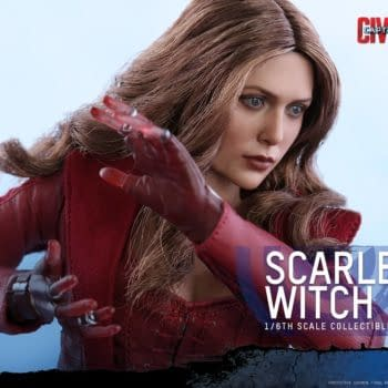 Hot Toys Reveals Third Scarlet Witch Sixth Scale Figure