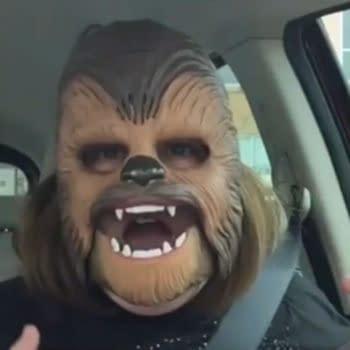 Chewbacca Mom, James Corden, J.J. Abrams…OH MY!