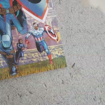 They're Burning Copies Of Captain America #1 Now