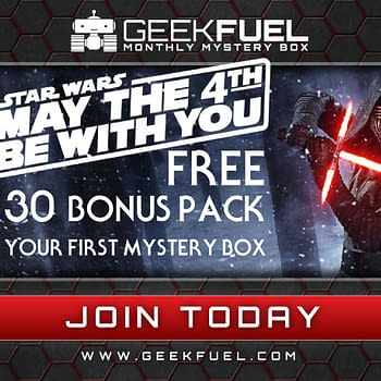 May The Fourth Results In An Extra Bonus Pack From Geek Fuel If You Sign Up Today