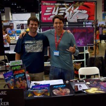 "It's Spelt ""Eyesis"" – Talking With David Espy and Alex Delia At Denver Comic Con 2016"