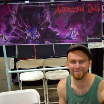 A Very American Oni – Carl Buchanan At Denver Comic Con 2016