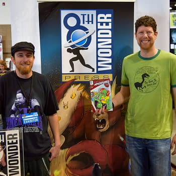 What Can You Do In Two Pages Jesse Dubin Dan Conner And Mister V At Denver Comic Con 2016