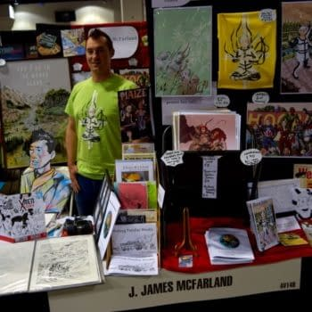 Denver Comic Con, Cryptic And Cogs With J James McFarland