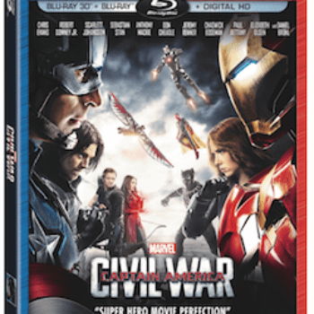 Details On The Captain America: Civil War Blu-ray / DVD