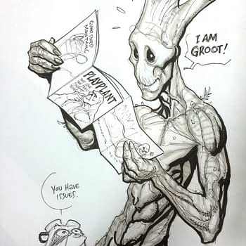 What Happens When You Ask Frank Cho For A Sexy Swamp Thing
