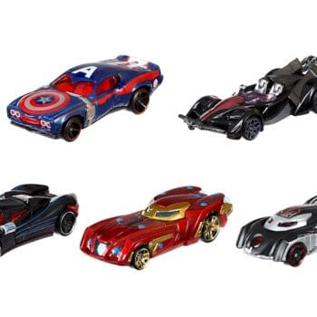 Captain America: Civil War Done With Hot Wheels