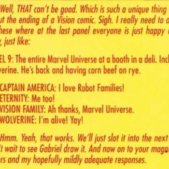 Tom King And Gabriel Walta's The Vision Is Marvel's Watchmen – If They Had Any Vision.