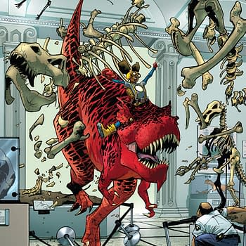 Amy Reeder Does A Quickdraw For Moon Girl And Devil Dinosaur #6